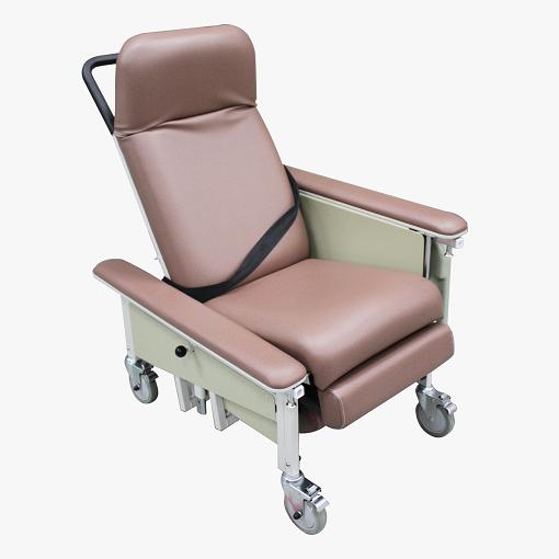 DNR Mobile Geriatric Chair with Drop Down Armrest main