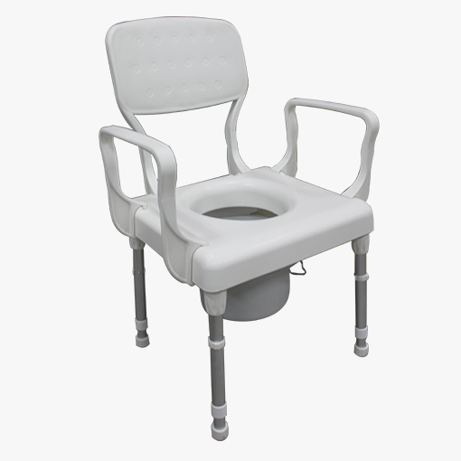 Rebotec Lyon Height Adjustable Commode Chair