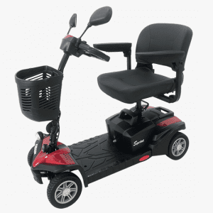 Eurocare Sprint Scooter full view