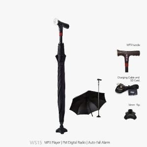 Umbrella Walking Stick WS-15 Product Image