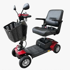 QLT Classic Scooter 45_8020 (Red) full view